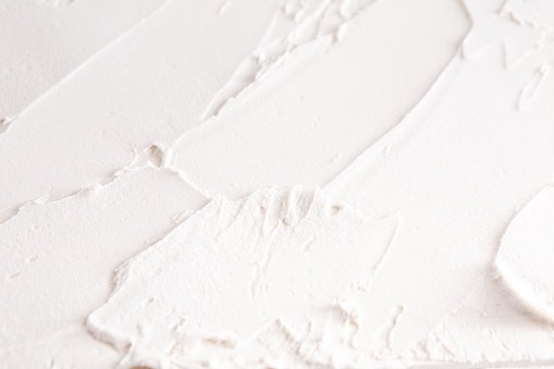 Textured White Paint